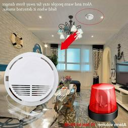 85dB Wireless Smoke Detector Home Security Fire Alarm Sensor