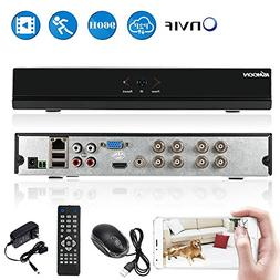 KKmoon 960H 8CH-Channel Security Network DVR, H-264 CCTV Vid