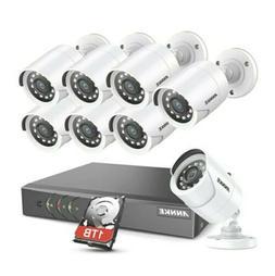 ANNKE 8CH Security Surveillance System H.265+ 5MP Lite Wired