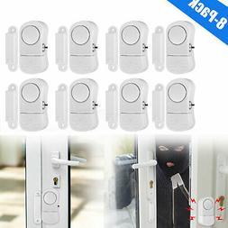 8X Wireless Home Window Door Burglar Security Alarm Loud Sys