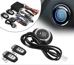9 in1 Start Push Button Remote Starter Keyless Entry Car SUV