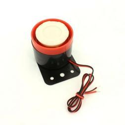 ALEKO® BS-PS201 12V 105dB Mini Electronic Wired Alarm Siren
