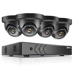 ANNKE New 1080P Lite Video Security System and  HD 1.3MP Sur