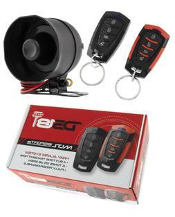 Car Alarm Security System, Keyless Entry 2 Door Locks DS18 1