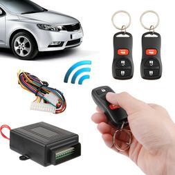 Car Auto Central Door Lock Keyless Entry System Remote Alarm
