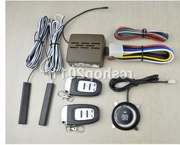 Car Auto SUV Alarm System Security Keyless Entry Push Button