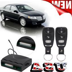 Car Central Power 4 Door Lock / Unlock Remote Kit Keyless En