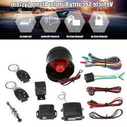 Car Vehicle Burglar Alarm Keyless Entry anti-theft Security