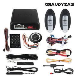 EASYGUARD PKE car alarm system remote start keyless entry pu