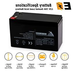 ExpertBattery NEW! 12V 7AH Home Security Alarm System Batter