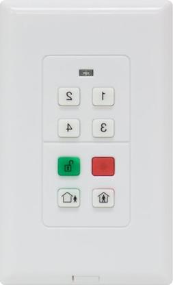 GE Choice Alert Wireless Alarm System Wireless Keypad