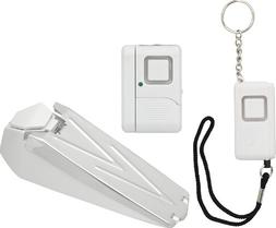 GE Personal Security Kit, Keychain/Doorstop/Window or Door A