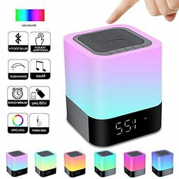 HOMPOT- Night Light Bluetooth Speaker, Touch Sensor Bedside