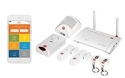Home8 Oplink Connected AlarmShield Home Security System, fea