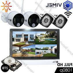 IP Camera Wireless WIFI P2P Alarm Home Security System Anti