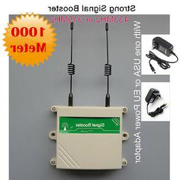 KERUI 433MHz PT2262 1527 Transmitter Wireless Repeater Signa