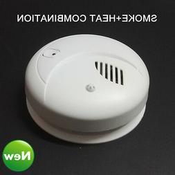KERUI 433MHz Wireless Heat & Smoke Detector Smoke + Heat Com