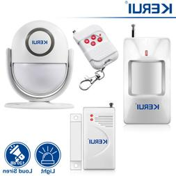 KERUI P6 120dB PIR Home Security Alarm System Strobe Light S