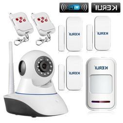 KERUI Wireless 720P Network WIFI IP HD camera Home Burglar S