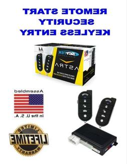 Keyless Entry Security Alarm Scytek A4 1 Way Auto Car Remote