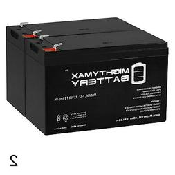 Mighty Max 12V 7Ah Battery Replacement for Alarm System Appl