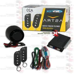 NEW SCYTEK CAR ALARM SYSTEM WITH KEYLESS ENTRY & TWO 5-BUTTO