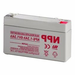 NPP  6V1.3Ah Rechargeable Sealed Lead Acid Battery For Secur