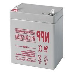 NPP 12V 2.9 Ah Rechargeable Lead Acid Battery Home Alarm Sec