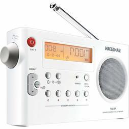 New Sangean Portable AM/FM Radio PLL Digital Tuning System L