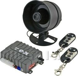 OMEGA K9-150D-LA CAR ALARM 1-WAY SECURITY KEYLESS SYSTEM 2 R