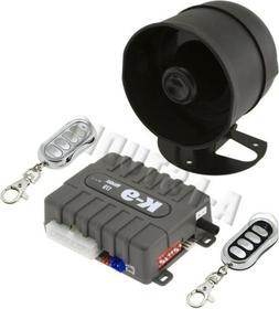 OMEGA K9-170-LA CAR 1-WAY SECURITY KEYLESS ENTRY ALARM SYSTE