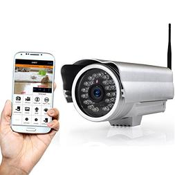 Outdoor Wireless Home Security Surveillance IP Camera with W