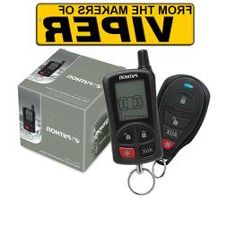PYTHON 5305P 2 WAY LCD VEHICLE CAR ALARM KEYLESS ENTRY REMOT