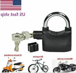 Pro Siren Alarm Lock Anti-Theft Security System Motor Bike B