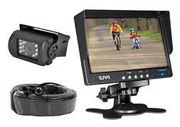 Pyle PLCMTR71 Weatherproof Rearview Backup Camera System Kit