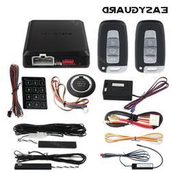 QualityPKE Car Alarm System Shock sensor&Remote engine Start