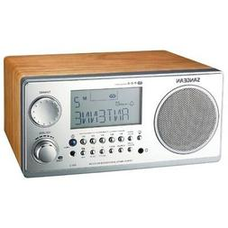 SANGEAN WR2WAL Sangean Digital AM/FM Stereo System with LCD