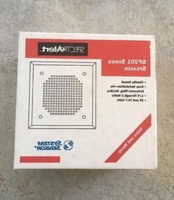 SYSTEM SENSOR SP201 SPECTRALERT AUDIBLE WALL SPEAKER ALARM V