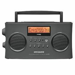 Sangean PR-D15 FM-Stereo/AM Rechargeable Portable Radio with