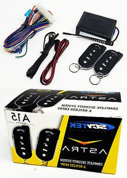 Scytek A15 Keyless Entry Car Alarm Security System, 2 Key Fo