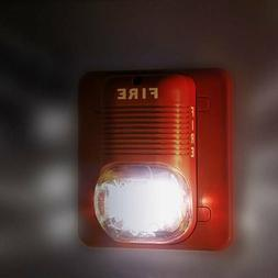Sound & Light Alert Safety System Sensor Fire Alarm Warning