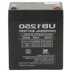 UPG 12V 5AH Alarm Security System Battery NEW! 12 volt 5 amp