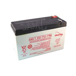 UPG Security Alarm System Battery 12V 7.2Ah SLA Security Cer