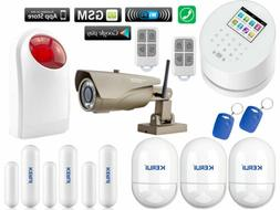 A15 KERUI APP WiFi GSM PSTN RFID Wireless Home Security Alar