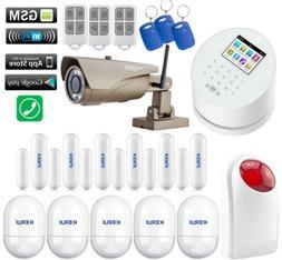A16 KERUI APP WiFi+GSM+PSTN+RFID Wireless Home Security Alar