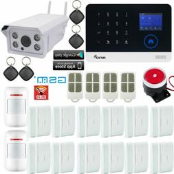 A18 WiFi GSM APP RFID GPRS Wireless Home Security Alarm Syst