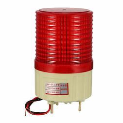 AC 110V Industrial Alarm System Rotating Warning Light Lamp