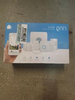 Ring Alarm System 4K11S70ENH 8 Piece Kit- White