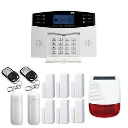 Alarm System Kit Wireless Home Security GSM Flash Strobe Out