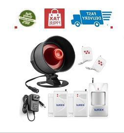 Alarm System Siren Security Remote Wireless Motion.Sensor Do